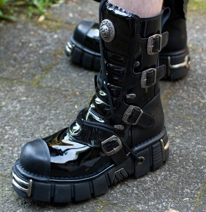 New Rock boots 313 lak