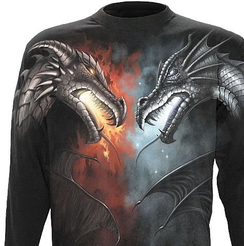 shirt 04 Dragon battle voorzijde