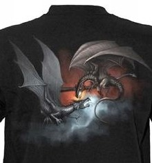 shirt 04 Dragon battle achterzijde