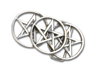 Alchemy buckle pentagram