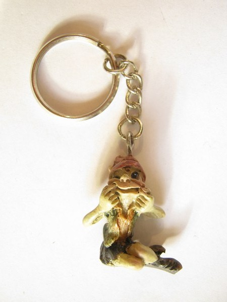 keyring pixie drawing faces