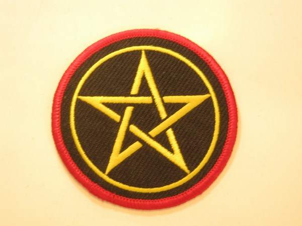 patch pentagram gekleurd