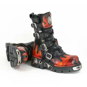 New Rock boots 591 rood